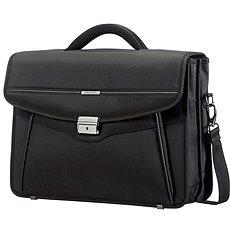Samsonite Desklite Briefcase 2 Gussets 15.6'' Black - Taška na notebook