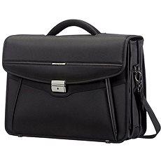 Samsonite Desklite Briefcase 3 Gussets 15.6'' Black - Taška na notebook