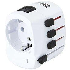 Emos 1.103200 bílý - Cestovní adaptér