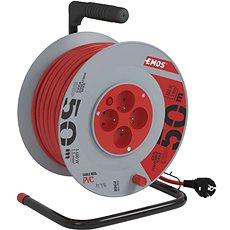 Emos Prodlužovací kabel na bubnu- 4 zásuvky 50m - Napájecí kabel