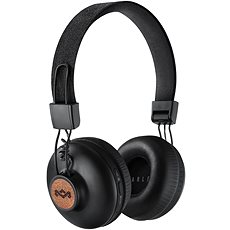 House of Marley Positive Vibration 2 wireless - signature black - Sluchátka s mikrofonem