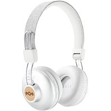 House of Marley Positive Vibration 2 wireless - silver - Sluchátka s mikrofonem