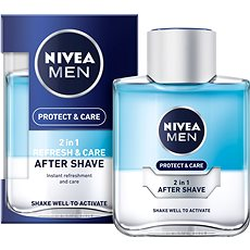 NIVEA Men Protect&Care 2v1 100 ml - Voda po holení