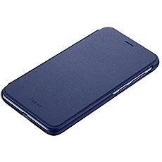 Honor 9 Lite PU Flip cover Blue - Pouzdro na mobilní telefon