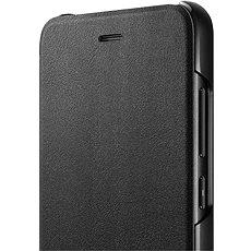 Honor 9 Lite PU Flip cover Black - Pouzdro na mobilní telefon