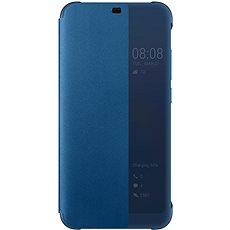Honor 10 PU Flip cover Deep Blue - Pouzdro na mobilní telefon