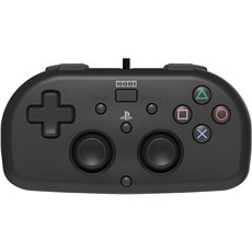 HORI Wired Mini Gamepad černý - PS4 - Gamepad