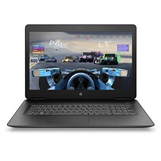 HP Pavilion Power 17-ab402nc Shadow Black - Herní notebook