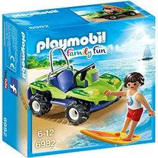 Playmobil 6982 Surfař  s plážovou buginou - Stavebnice