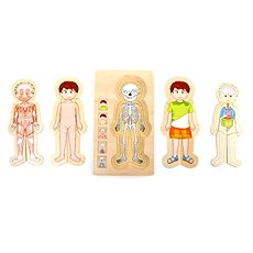 Puzzle - Anatomie Tim - Didaktická hračka