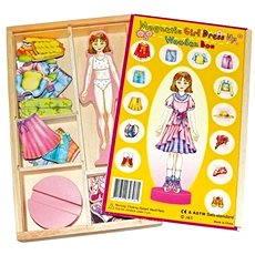 Převlékací magnetická panenka - Magda - Herní set