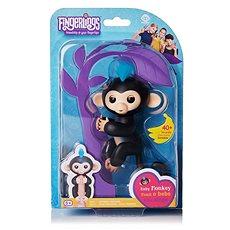Fingerlings - Opička Finn, černá - Interaktivní hračka