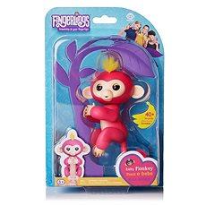 Fingerlings - Opička Bella, růžová - Interaktivní hračka
