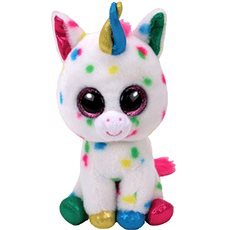 Beanie Boos Harmonie - speckled unicorn 24 cm - Plyšová hračka