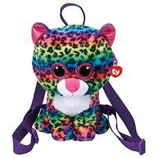Ty Gear backpack Dotty - multicolor leopard 25 cm - Plyšová hračka