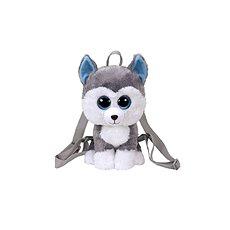 Ty Gear backpack Slush - husky 25 cm - Plyšová hračka