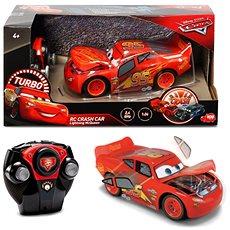 Dickie RC Cars 3 Blesk McQueen Crazy Crash - RC auto na dálkové ovládání