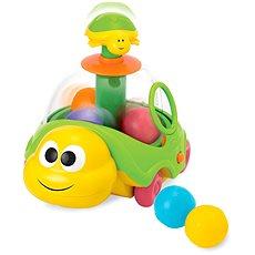 Želvička tahací s míčky - Didaktická hračka