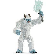 Schleich 42448 Ledové monstrum se zbraní - Figurka