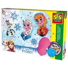 Ses Frozen - zažehlovací korálky, velká sada - Kreativní sada
