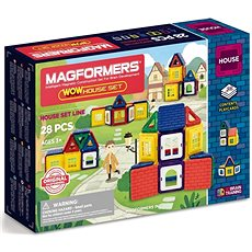 Magformers Wow House - Magnetická stavebnice