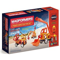 Magformers Power Construction - Magnetická stavebnice