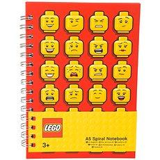 Lego A5 Spirálový zápisník - Poznámkový blok