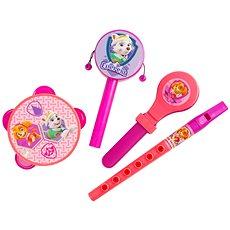 Tlapková patrola Hudební set růžový - Hudební hračka