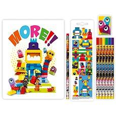 LEGO Movie 2 Stationery Set se zápisníkem Duplo - Školní set