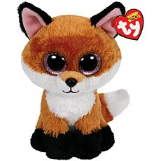 Beanie Boos Slick - Brown Fox 24 cm - Plyšák