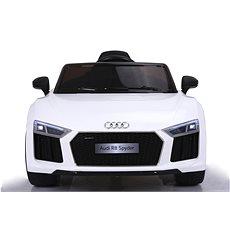 Audi R8 Spyder bílé - Dětské elektrické auto