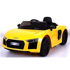 Audi R8 Spyder žluté - Dětské elektrické auto