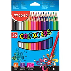 Maped Color Peps, 36 barev  - Pastelky