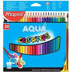 Maped Color Peps Aqua, 24 barev  - Pastelky
