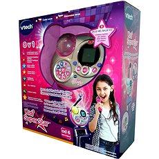 Kidi Super Star - růžová - Ruční mikrofon