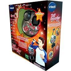Kidi Super Star SK - čierná SK verze - Ruční mikrofon