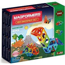 Magformers Mini dinosauři - Magnetická stavebnice