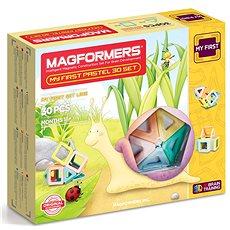 Magformers Můj první Pastelle - Didaktická hračka