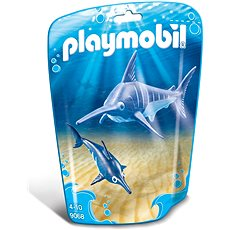 Playmobil 9068 Mečoun s mládětem - Stavebnice