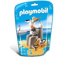 Playmobil 9070 Rodina pelikánů - Stavebnice