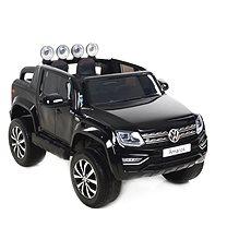 Volkswagen Amarok černý - Dětské elektrické auto