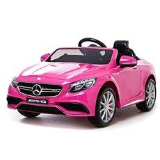 Mercedes-Benz S63 AMG růžový - Dětské elektrické auto