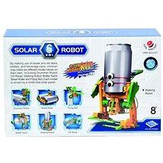 Robot solární  6 v 1 - Elektronická stavebnice