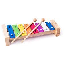 Woody Kovový xylofon - Hudební hračka