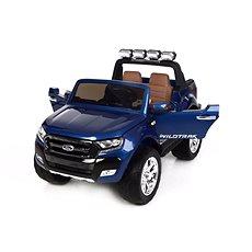 Ford Ranger Wildtrak 4x4 LCD Luxury lakovaný modrý - Dětské elektrické auto