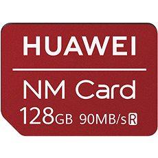 Huawei Original Nano Paměťová Karta Red 128GB - Paměťová karta