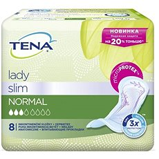 TENA Lady Slim Normal 8 ks - Inkontinenční vložky