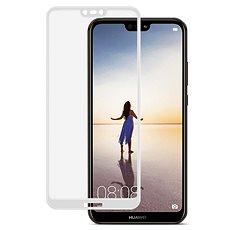 Icheckey 2.5D silk Tempered Glass protector Black pro Huawei P20 Lite - Ochranné sklo