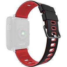 IMMAX pro hodinky SW9, černo-červený - Řemínek