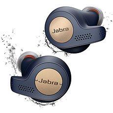 Jabra Elite 65t Active měděná modrá - Sluchátka s mikrofonem